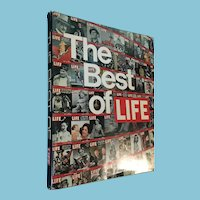 1973 'The Best of Life' Hardcover Book with Dust Jacket