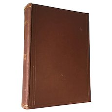 """1894 'Poems by Adam Lindsay Gordon,"""" Hardcover Poetry and Ballads Book"""