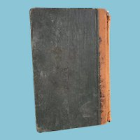1859 'A Practical System of Book-Keeping - Single and Double Entry' Hardcover Book