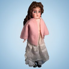 "Lovely 23"" German Bisque Armand Marseille Doll Marked 'Lily'."