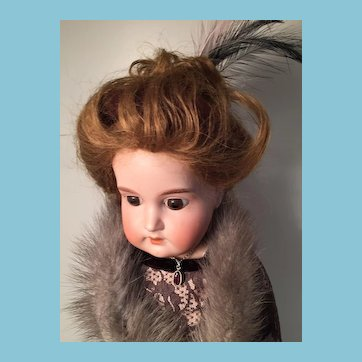 Stunning 'Eaton Beauty' German Bisque Fashion Doll by Armand Marseille