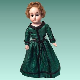 Century Old 'Porzellanfabrik Rauenstein' German Bisque Cabinet Fashion Doll