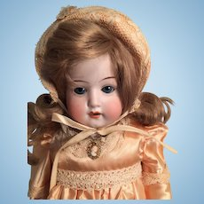 Gorgeous Antique German Bisque Doll 'Eveleyne' by Heubach Koppelsdorf