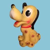 Vintage Disney Productions Pluto Squeak Toy