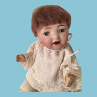 Morimura Bros Japanese Bisque Character Baby