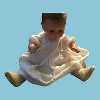 """Beautiful 1950s 20"""" Hard Plastic Reliable Toy Company Baby Doll"""