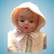 """1930-40s  16"""" 'Magic Skin' Regal Composition Baby Doll"""