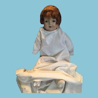 """Circa 1920 21"""" Petite American Character Composition Doll"""