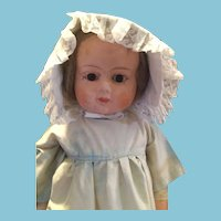 "Circa 1880-1915 30"" Patent Washable Papier Mache doll."