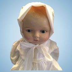 Circa 1913 Closed Mouth Version of Effanbee Baby Dainty Doll.