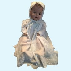 """Circa 1924 to 1930 Unmarked 24"""" Tall Mama Doll"""