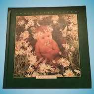 "Precious Unused 1997 Anne Geddes 11"" x 11"" Photo Album"