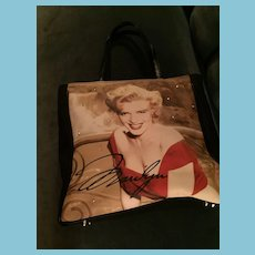 Marvelous Marilyn Monroe Tote Bag by 20th Century Fox.
