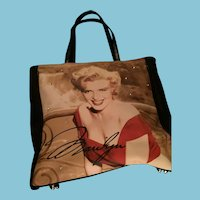 Marvelous Marilyn Monroe Tote Bag by 20th Century Fox.