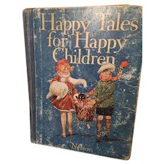 Happy Tales for Happy Children Fully Illustrated Hardcover Children's Book