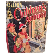 'Collins Children's Annual' Hardcover Anthology and Christmas Activity Book for Girls and Boys