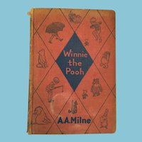 1935 'Winnie the Pooh' Hard Cover Book by A.A. Milne