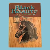 1955 'Whitman Classic Black Beauty' Hard Cover Children's Book