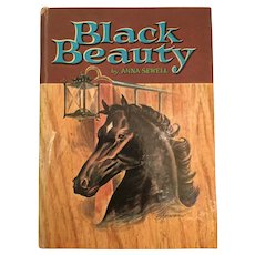 1955 'Whitman Classic Black Beauty' Hard Cover Children's Book