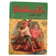 1955 Whitman's Classic Huckleberry Finn by Mark Twain