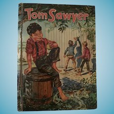 Whitman's Famous Classics 'The Adventures of Tom Sawyer' Children's Hard Covered Book