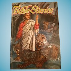 Whitman Famous Classics 'Bible Stories from the Old and New Testaments' Hard Covered Book