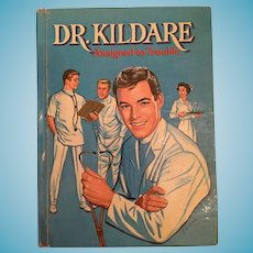 1963 Whitman 'Dr. Kildare Assigned to Trouble' Children's Hard Covered Book