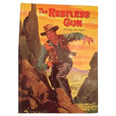1959 Whitman 'The Restless Gun' Children's Hard Covered Book