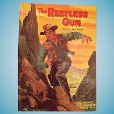 1959 Whitman 'The Restless Gun' Children's Hard Covered Book