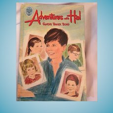 1965 Whitman Tween Age Book 'Adventures with Hal' Hard Covered Book