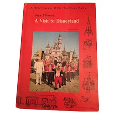 1965 Whitman Big Tell-a-Tale, 'A Visit to Disneyland' Hard Covered Book