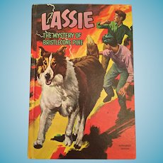 1967 'Lassie - The Mystery of Bristlecone Pine' Hard Covered Children's Book