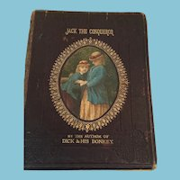 1862 Illustrated 'Jack the Conqueror' Children's Hardcover Book