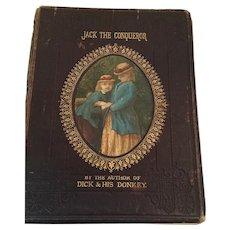 1862 Illustrated 'Jack the Conqueror' Children's Hardcover Book