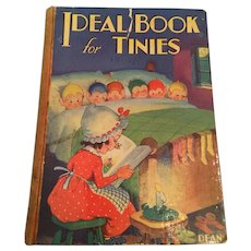 Circa 1950s 'Ideal Book for Tinies' Anthology of Children's Stories