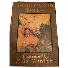 1913 First Edition 'Tanglewood Tales' by Nathaniel Hawthorne