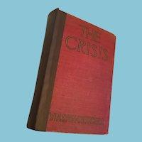 1920 Historical novel 'The Crisis' by Winston Churchill 1926 reprint