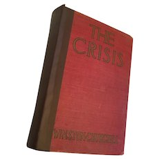 1920 Historical novel 'The Crisis' by Winston Churchill 1926 reprint