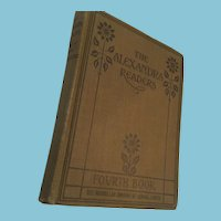 1918 'The Alexander Readers - Fourth Book'.