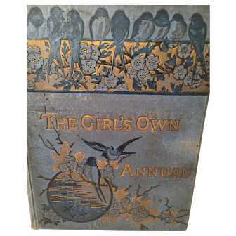 1891 'The Girl's Own Annual ' Hard Cover Collection