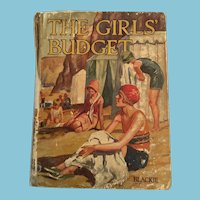 Circa 1930s 'The Girls Budget' Hard Cover Book