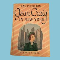 1948 'Jean Craig, In New York' Falcon Book for Girls