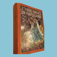 Circa 1928 'Fairy Tales OF Many Lands' Hard Cover Book