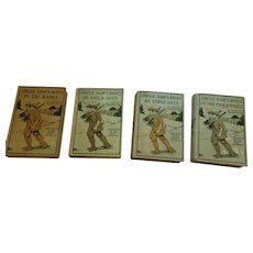 1910 - 1912 'The Boys of the Army Series' Four Hard Cover Books
