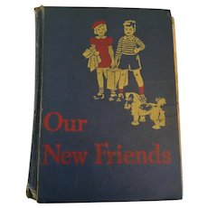 1940s Illustrated 'New Friends' Gage & Co. Basic Reader