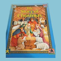 1989 'The Story of Christmas' Hard-covered Picture Storybook