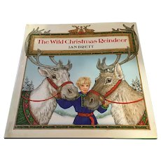Hardcover 'The Wild Christmas Reindeer' Picture Book with Dustjacket