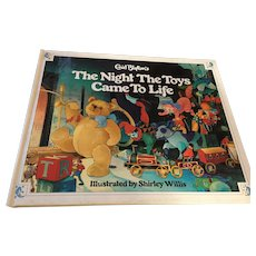 1989 Enid Blyton's 'The Nights the Toys Came to Life' Hardcover Picturebook