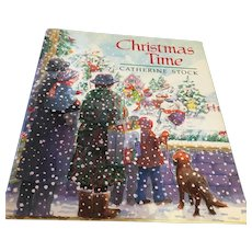 1990  Hardcover 'Christmas Time' Picture Storybook