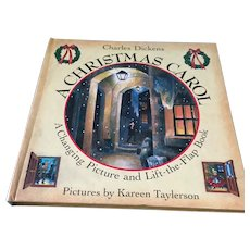 1993 Charles Dickens 'A Christmas Carol - A Changing Picture and Lift Flap Book'